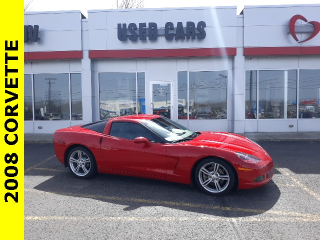 Pre-Owned 2008 Chevrolet Corvette Base
